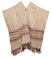 Poncho en laine -Country-